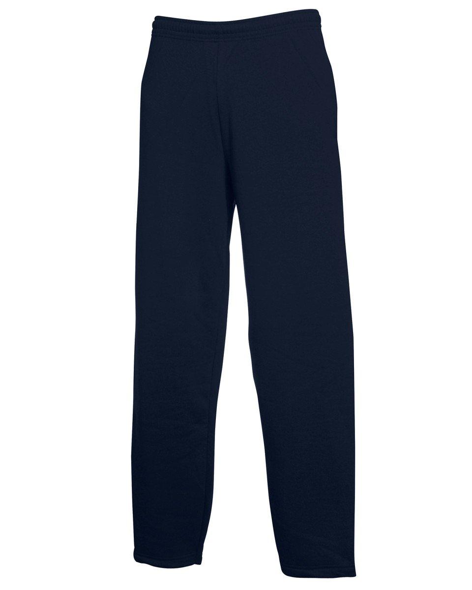 Mens Fruit Of The Loom Open Hem Jogging Sweat Pants, 3 Colours BTC