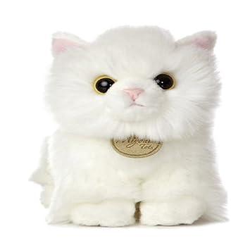 Amazon Com 7 5 Angora Kitten Miyoni Aurora Plush Stuffed Animal