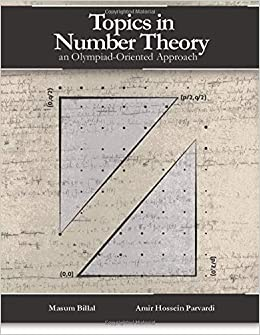 Amazon com: Topics in Number Theory: An Olympiad-Oriented