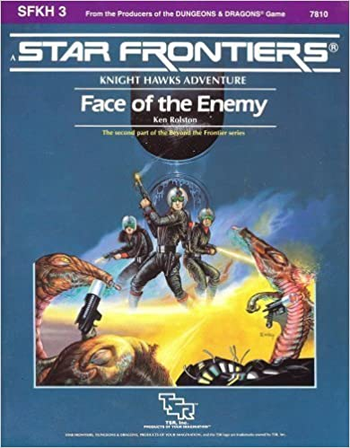 Book Face of the Enemy (Star Frontiers module SFKH3) by Ken Rolston (1985-04-03)