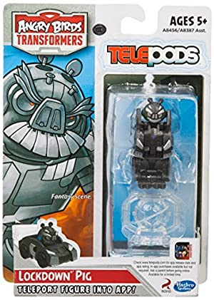 Angry Birds Transformers Telepods Figure Pack Lockdown Pig by Angry Birds Transformers