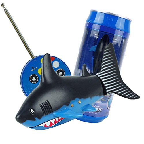robo fish blue shark - 8