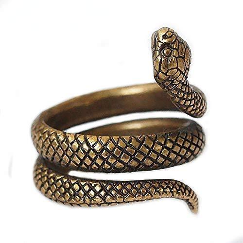 Brass ring Snake