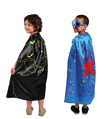 Superhero Capes Children Black Cape product image