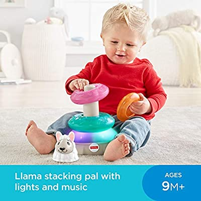 Fisher-Price Linkimals Lights & Colors Llama: Toys & Games