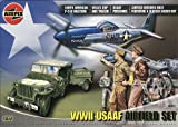 : Airfix A06903 1:72 Scale/1:76 Scale WWII USAAF Airfield Set Airfield Set Classic Kit