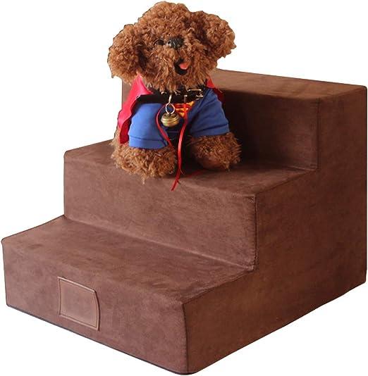 TFACR Escaleras para Perros de 3 Pasos - Rampa Desmontable Desmontable para Mascotas para Perro Grande/pequeño Gato, Escalera fácil de Subir Animales: Amazon.es: Hogar