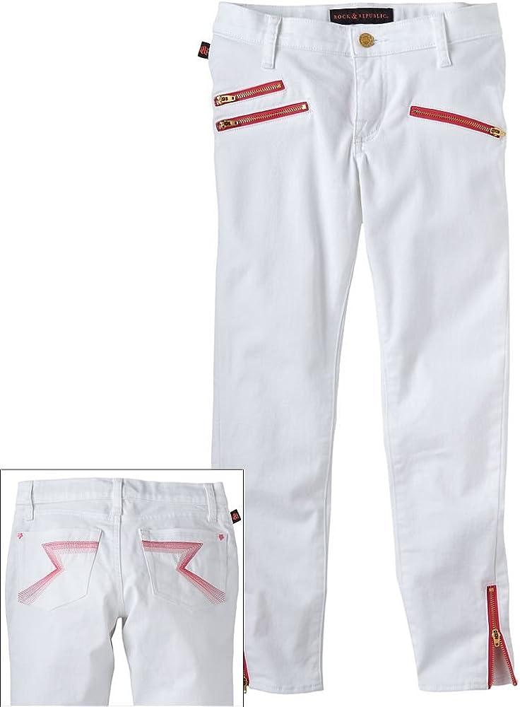 Rock /& Republic Skinny Crop Jeans Girls 7-16 10R
