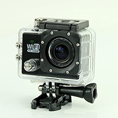 Puluz SJ6000 12MP Full HD 1080P 2.0 Inch LCD Screen WiFi Sport DV Camera (Black)