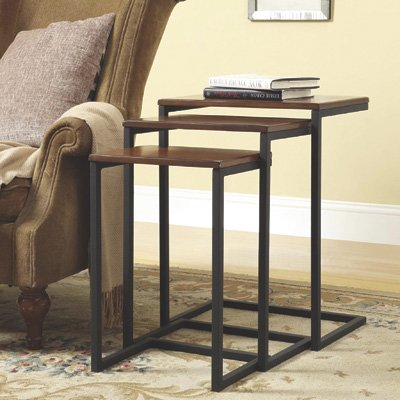 Carolina Forge 3-Pc. Madison Nesting Tables by Carolina Forge