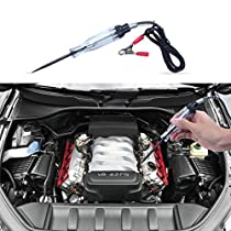 EFORCAR 2pcs Auto Truck Car Electric Circuit Voltage Tester Dc 6v 12v 24vTest Light Pen Tool