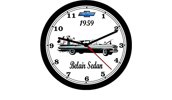 amazon 1959 chevrolet belair sedan wall clock free usa ship 1967 Chevrolet Impala amazon 1959 chevrolet belair sedan wall clock free usa ship home kitchen