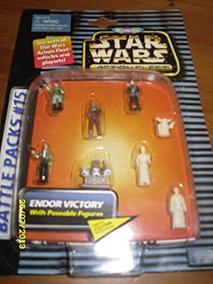 Star Wars Action Fleet Micro Machines Battle Pack #15 Endor Victory by Galoob