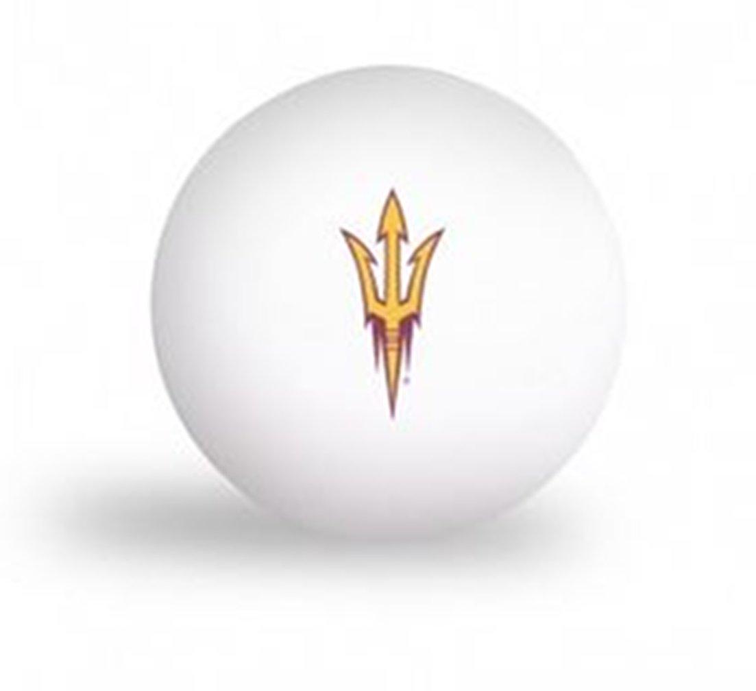 Laser Magic NCAA Arizona State University Sun Devils 6 pack Ping Pong Balls by Laser Magic