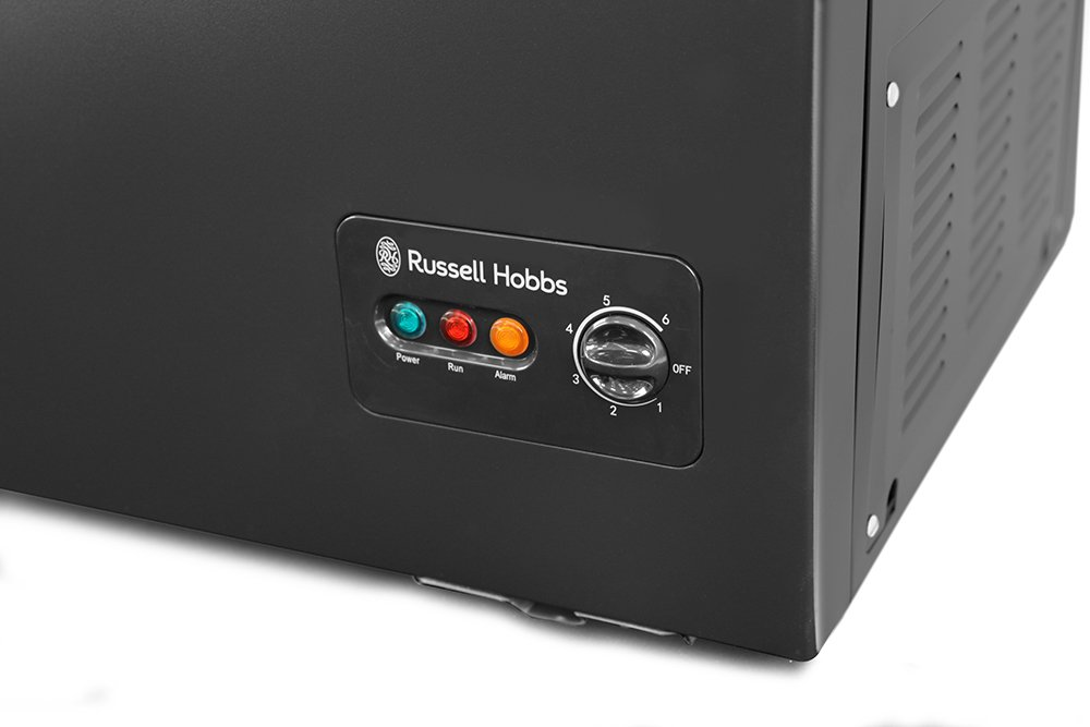 russell hobbs rhcf99b 99l a energy rating chest freezer black free 5 year guarantee amazoncouk large appliances