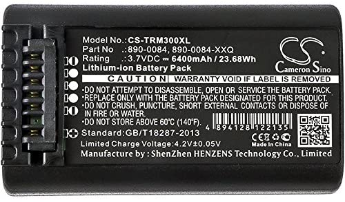 Trimble 890-0084 Nomad 800 6400mAh Battery Replacement for Trimble Nomad 1050 Nomad 900 890-0084-XXQ 990651-004277