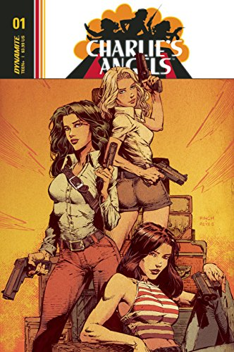 David Finch Cover - Charlie's Angels (2018) #1 VF/NM David Finch Cover Dynamite