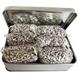 Jets Emergency Fire Starter Magnesium 6 Bags100% Pure+ 1 Free Tin Box Camping Hiking Bushcraft
