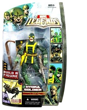 Marvel Legends Series 3 > Hydra Soldier (Yelling Variant) Action Figure [Toy] (Hydra Marvel Legends compare prices)