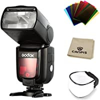 GODOX Thinklite TTL TT685C Camera Flash 2.4GHz High Speed 1/8000s GN60 for Canon EOS DSLR E-TTL II Autoflash (TT685C)