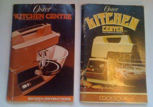 Oster Kitchen Center Food Preparation Appliance Cook Book: v ...