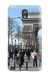 Quality Valerie Lyn Miller Case Cover With City Of Paris Nice Appearance Compatible With Galaxy Note 3