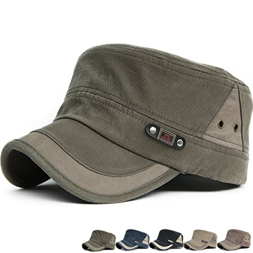 Rayna Fashion Unisex Adult Cadet Caps Military Hats Various Design and (Cadet Hat)