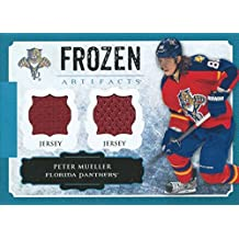 (HCW) 2013-14 Artifacts Frozen PETER MUELLER Jersey UD Dual Material 00734