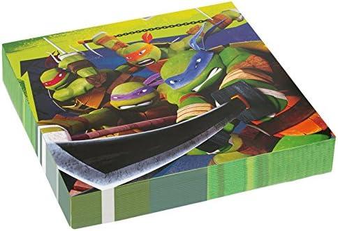 Kit de d/écoration de table Tortues Ninja pour 8 personnes