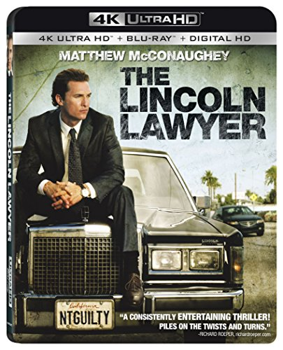 4K Blu-ray : The Lincoln Lawyer (With Blu-Ray, 4K Mastering, 2 Pack, Digitally Mastered in HD, Widescreen)