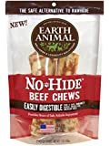 Earth Animal No Hide Beef Chews, 7 Inches, Rawhide Alternative Dog Treats, Pack of 2