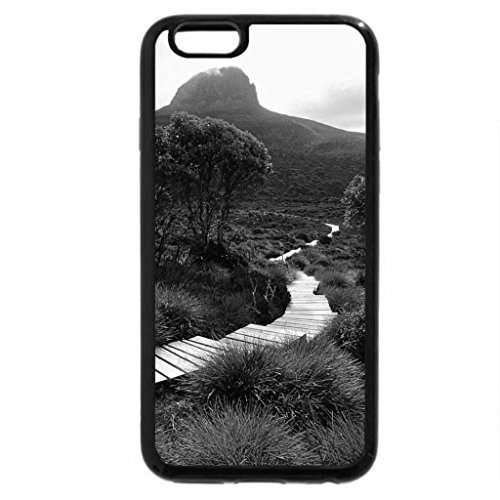 iPhone 6S Case, iPhone 6 Case (Black & White) - Gangway at the green