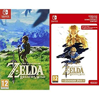 The Legend Of Zelda: Breath Of The Wild [Nintendo Switch] + Expansion Pass [Switch Download Code] by Nintendo