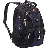 SwissGear 1900 Scansmart TSA Laptop Backpack - Black/Blue