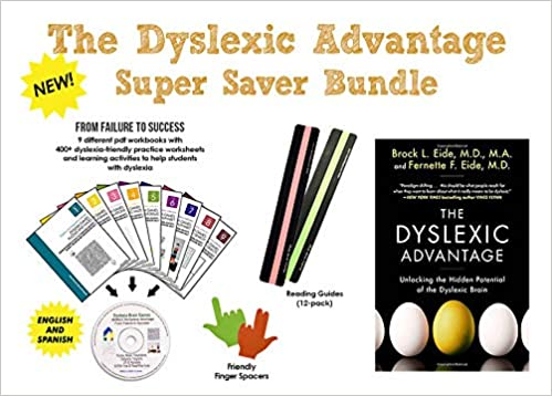 The Advantages Of Dyslexia And Why E >> The Dyslexic Advantage Dyslexia Brain Games Cd Easy Bundle
