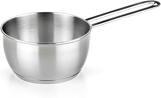 2 litros Cazo Acero inoxidable 16 cm SILBERTHAL Cazo cocina induccion Cazo antiadherente vitroceramica