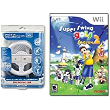 Wii Super Swing Golf Season 2 PLUS Play & Drive Soft Sports Kit for Wii GAMING COMBO