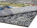 Rug Pad Central 7x10-Feet Rectangle 1/4'' Thick Felt and Rubber Rug Pad