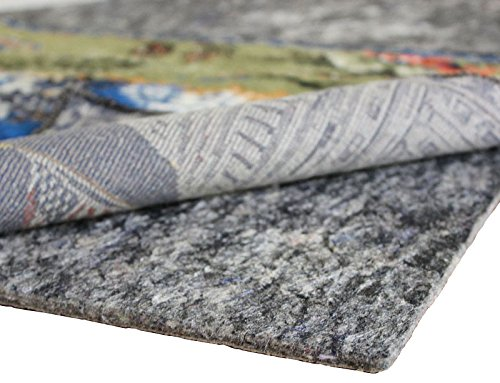 Rug Pad Central 9x13-Feet Rectangle 1/4'' Thick Felt and Rubber Rug Pad