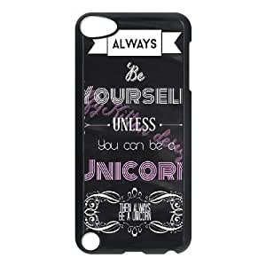 Unicorn Quote CUSTOM Hard Case for iPod Touch 5 LMc-39391 at LaiMc