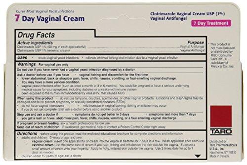 Taro Clotrimazole 7 Vaginal Cream 45 G Pack Of 2 Buy