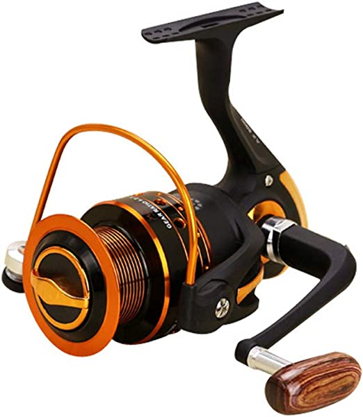 Carretes de Pesca Spinning Fishing Reel 12 + 1 Rodamientos Mango ...
