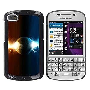 iKiki Tech / Estuche rígido - Planeta Dual - BlackBerry Q10