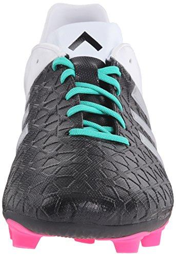 Adidas Rendimiento De 15,4 As Zapato De Fútbol De Los Hombres De Negro De Plata / Metálico / Blanco