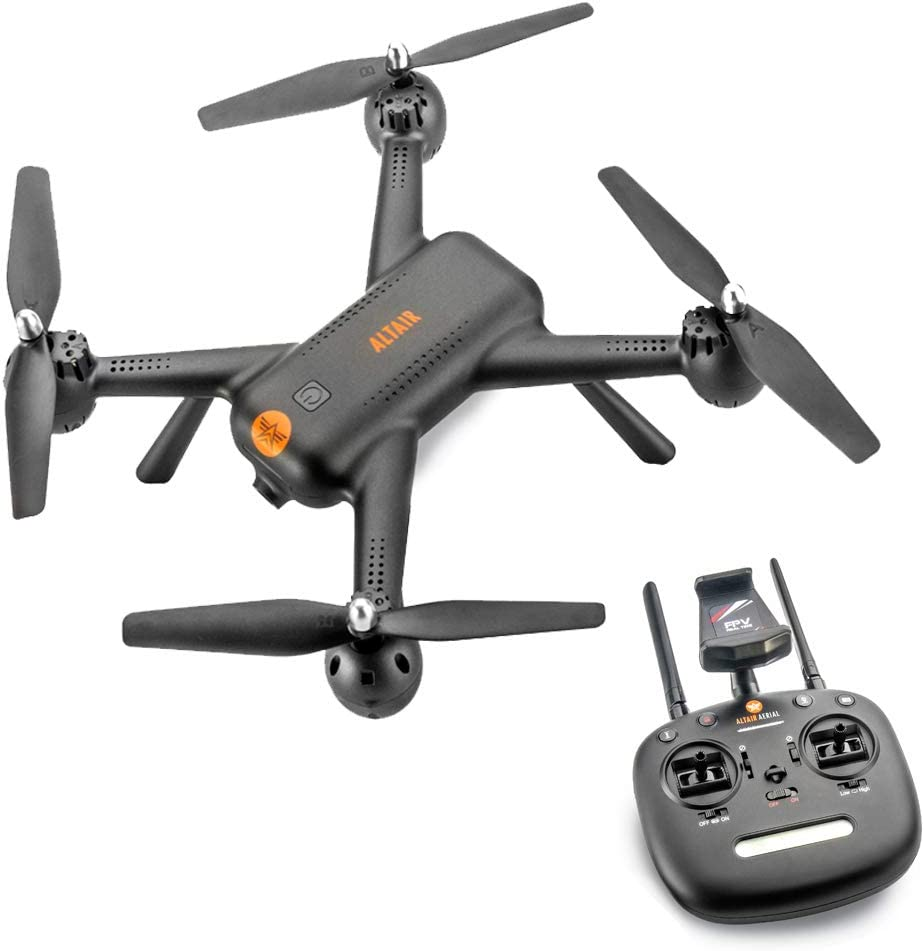 Altair Aerial AA300 GPS Beginner Drone with Camera   FREE PRIORITY SHIPPING   1080p FPV Video & Photography Remote Control Camera Drone w/ Auto Return Home, RC Drone for Kids & Adults (Lincoln, NE)