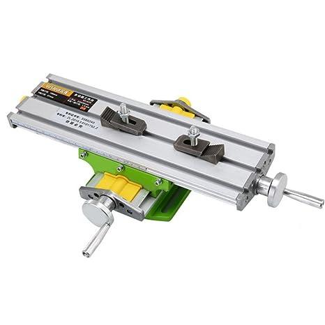 Tornillo de taladro de banco cruzado de mesa de trabajo de fresadora multifuncional de mini precisión