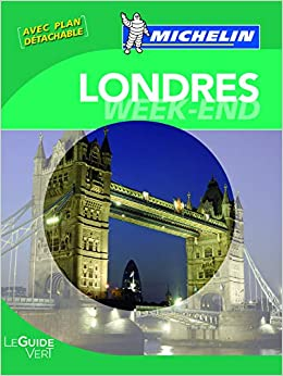 Amazon Fr Guide Vert Week End Londres Collectif Michelin Livres