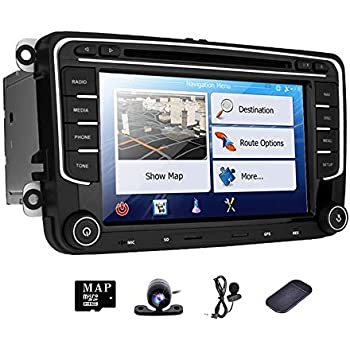Amazon.com: hizpo HD 7 Inch Double Din Car Stereo GPS DVD ...