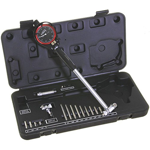 iGaging 34-668 Dial Bore Gauge, Out of Round Cylinder Measurement, 1.4'-6'/0.0005' Deep