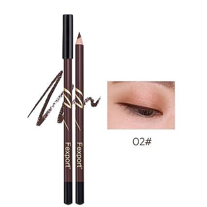 Pluma de ceja mate duradero lápiz de ojos impermeable lápiz de cejas Lip Line Pen para